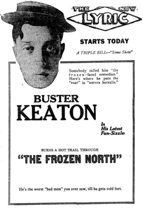 Póster Cortometraje El Polo Norte - Buster Keaton