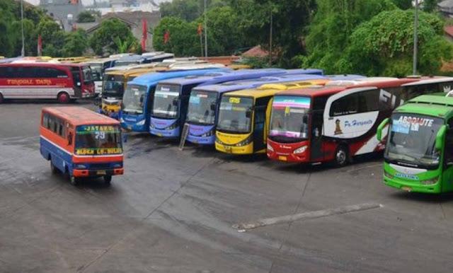 dampak corona bus akadp akap berhenti operasi