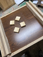 plywood cubes