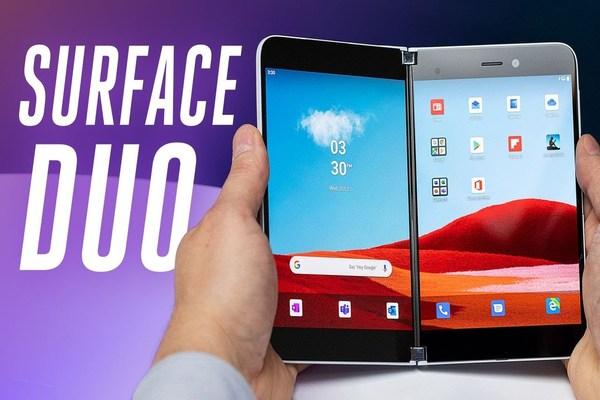 أخيرا.. الكشف عن موعد تسويق و ثمن Microsoft Surface Duo (صور)
