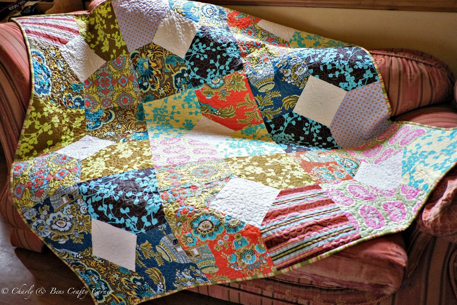Charly Amp Ben S Crafty Corner Trunk Full Of Quilts