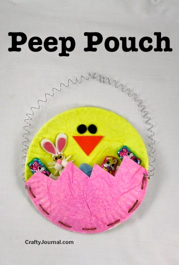 peep pouch bkids easter craft