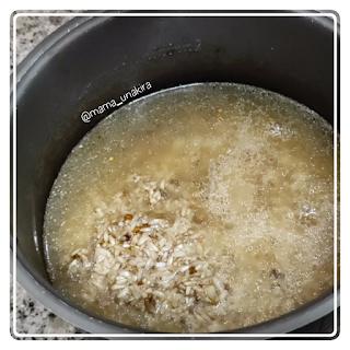 Nasi ayam hainan menu anak