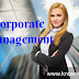 Meaning & Definition of Corporate Management, what is Corporate Management 2020