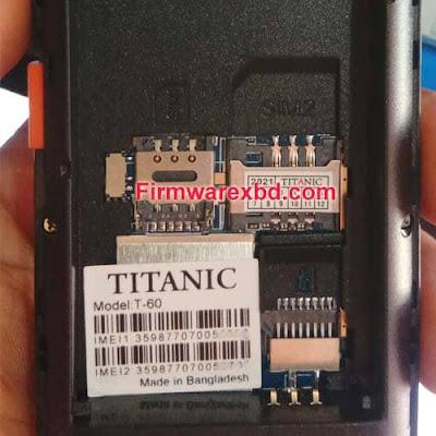 Titanic T-60 Flash File