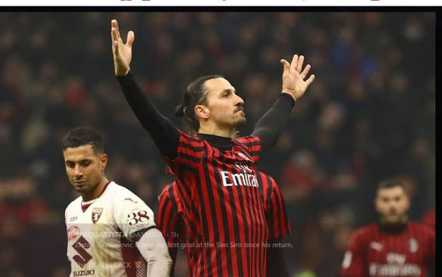 italian-league-results-against-10-people-AC-Milan-without-Zlatan-Ibrahimovic-held1-1-at-home