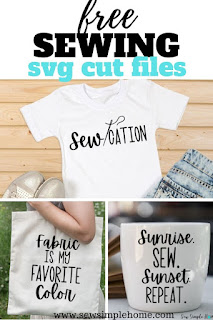 Simple and free sewing svg cut files for free download.