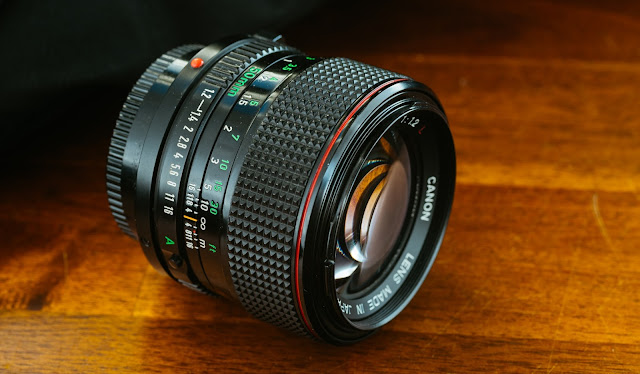 Canon Lens FD 50 mm 1:1.2 L Vintage Manual Focus Lens