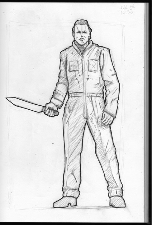 michael myers coloring pages   Coloring Pages for Familly ...
