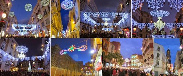 Celebrate the New Year in Malaga: Christmas Lights in Málaga, Spain