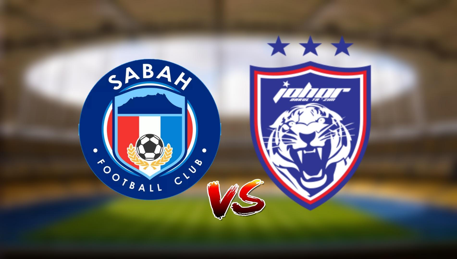 Live Streaming Sabah FC vs JDT FC Liga Super 6.4.2021