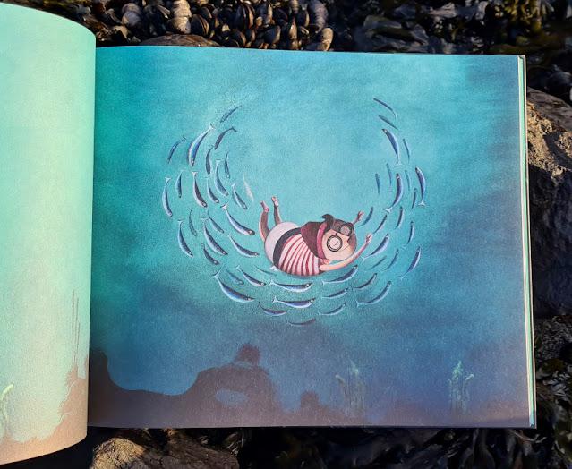 Meine Seesucht - meine Sehnsucht: Blogparade zu einem einzigartigen maritimen Kinderbuch. Das Bilderbuch erzählt von dem Traum, im Meer zu leben.