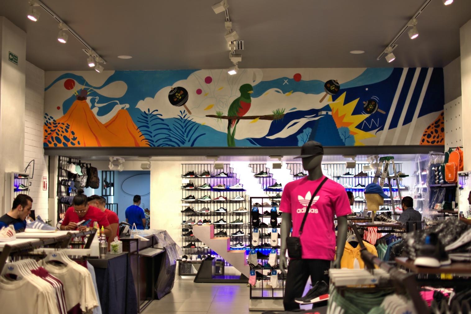 Adidas Originals Impulsa El Arte Guatemalteco A Traves De Murales En