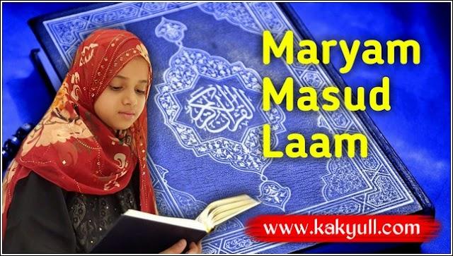 Maryam Masud Laam | Hafidzah Sekaligus YouTuber Yang Menginspirasi Banyak Anak Kecil