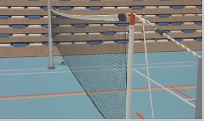 Jaring net bulutangkis (badminton) - pustakapengetahuan.com