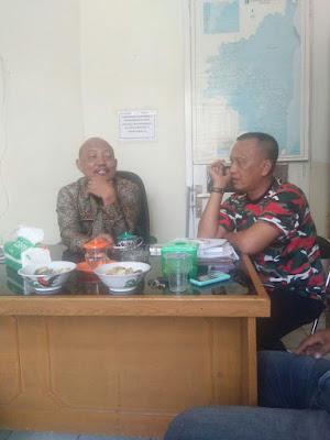 Puluhan Wartawan Sambangi Dinas Sosial Lampung Timur