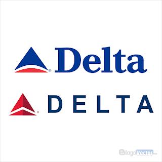 Delta Air Lines Logo vector (.cdr) Free Download