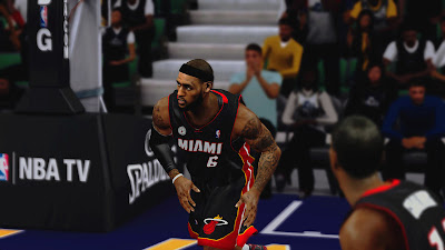 NBA 2K13 LeBron James Hair Update Cyber Face