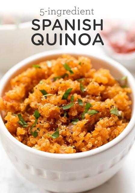 Easy Spanish Quinoa Recipe