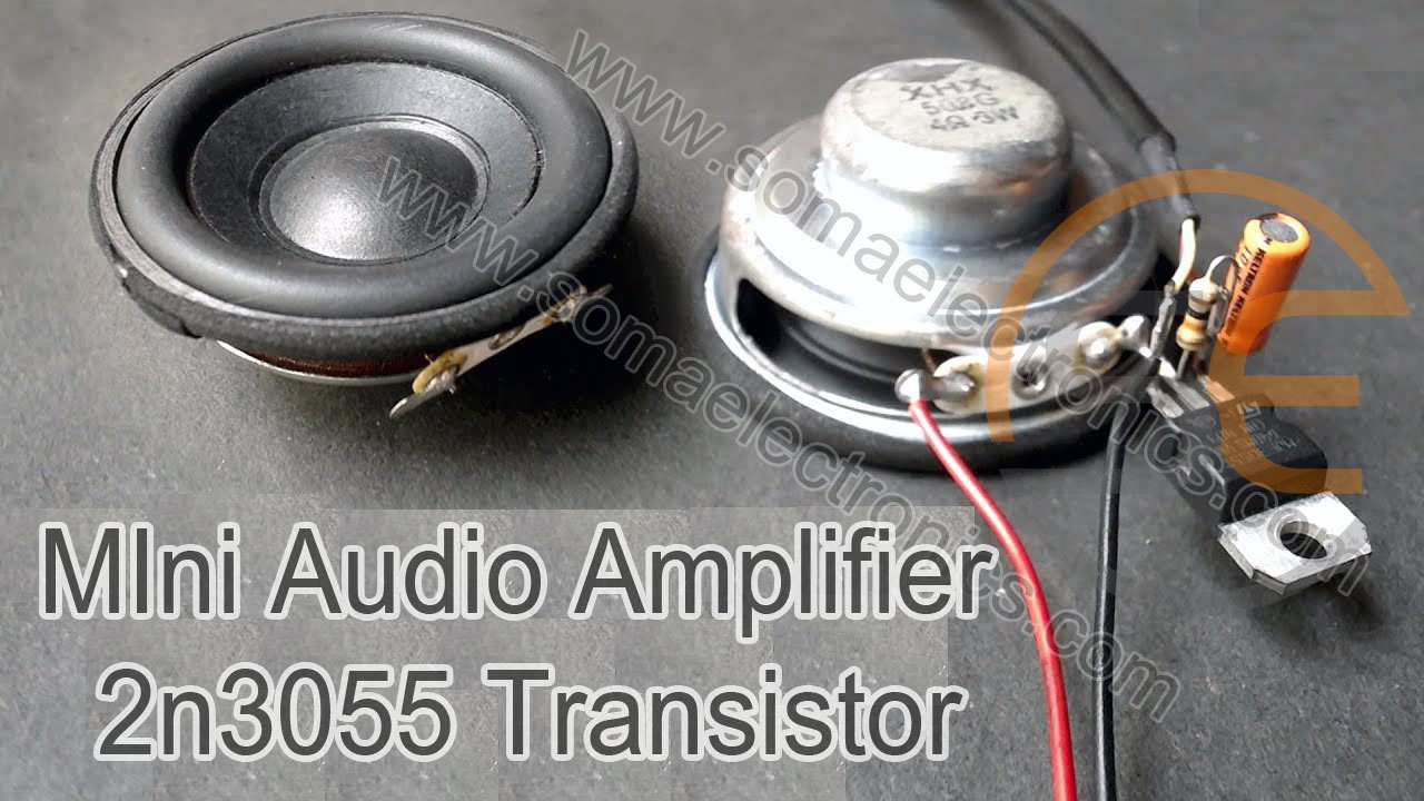 Easy And Homemade Amplifier 2n3055 Transistor Circuit