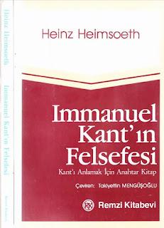 Heinz Heimsoeth - Immanuel Kant'ın Felsefesi