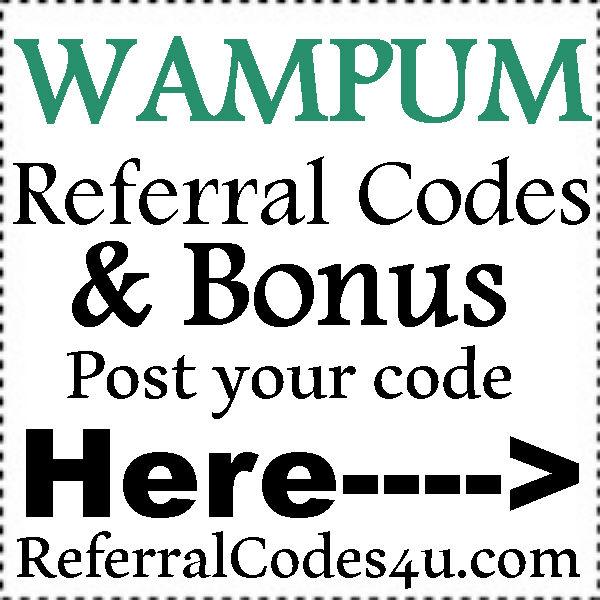 WAMPUM Referral Codes 2016-2021, WAMPUM App Reviews, WAMPUM Bonus
