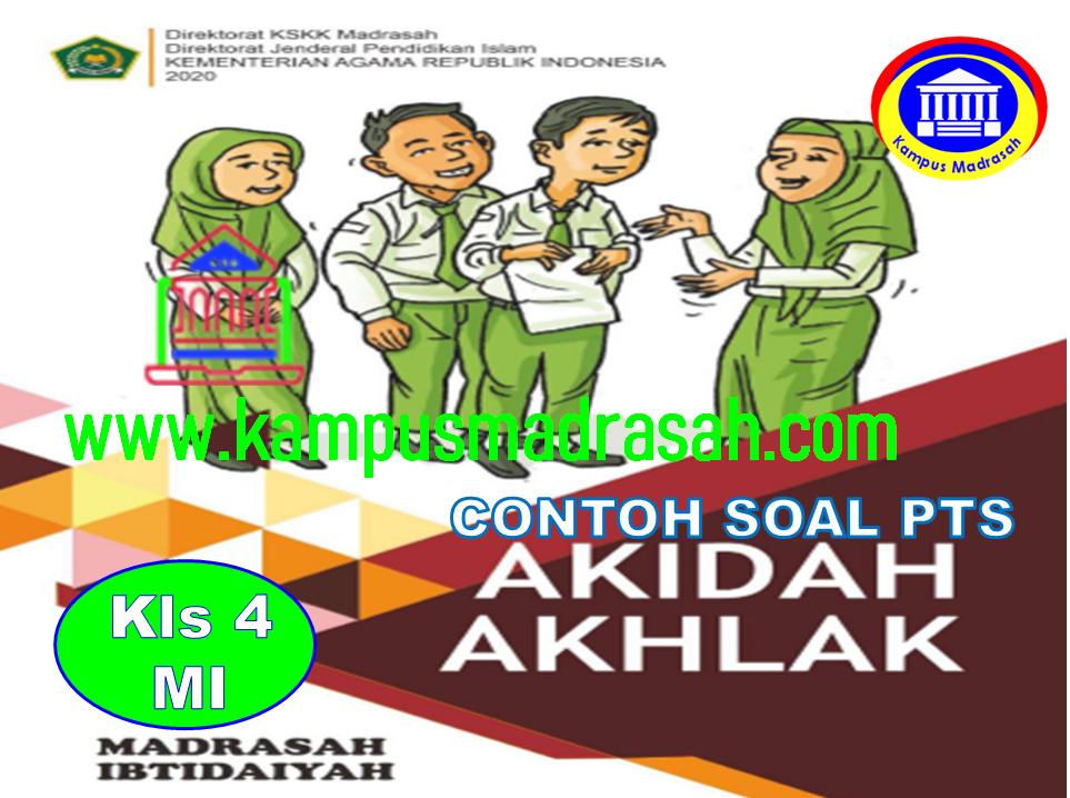 Soal PTS Akidah Akhlak Semester 2 Kelas 4