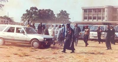 Bakassi boys in action