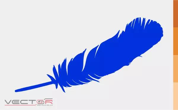 Blue Origin Feather Logo Icon - Download Vector File AI (Adobe Illustrator)