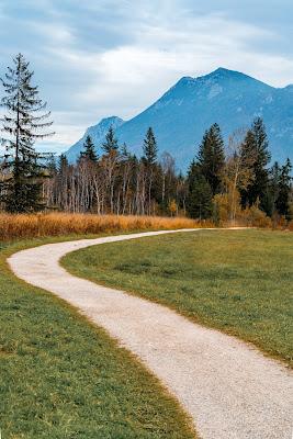 Talwanderung Inzell | Herbstwandern im Chiemgau | Moor-Erlebnis-Pfad und Reifenrutsche Kesselalm 08