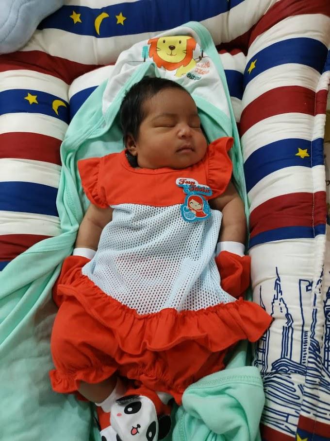 1 OGOS 2020 | MY SECOND BABY... NUR AYRA...