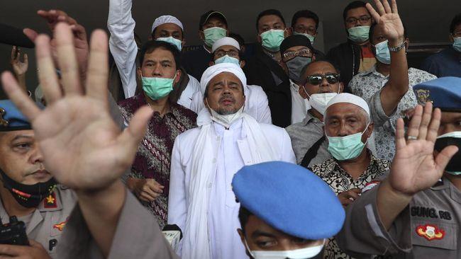 Eksepsi Habib Rizieq Singgung Kerumunan KLB Demokrat Ilegal