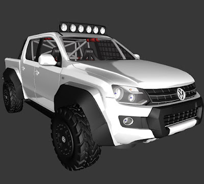 GTA SA - VW AMAROK OFF ROAD
