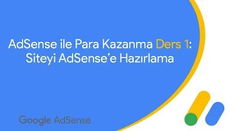 Ders 1: Siteyi Google AdSense'e Hazırlama