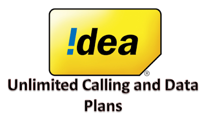 Idea Unlimited Calling and Data Plans