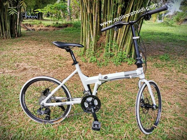 Terjebak Aktiviti Berbasikal, Beli Mongoose Folding Bike 27 Speed