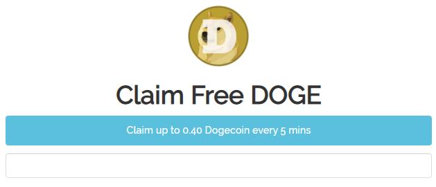 Cara mendapatkan faucet dogecoin gratis setiap 5 menit