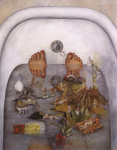 Фрида Кало - Что мне дала вода. 1938