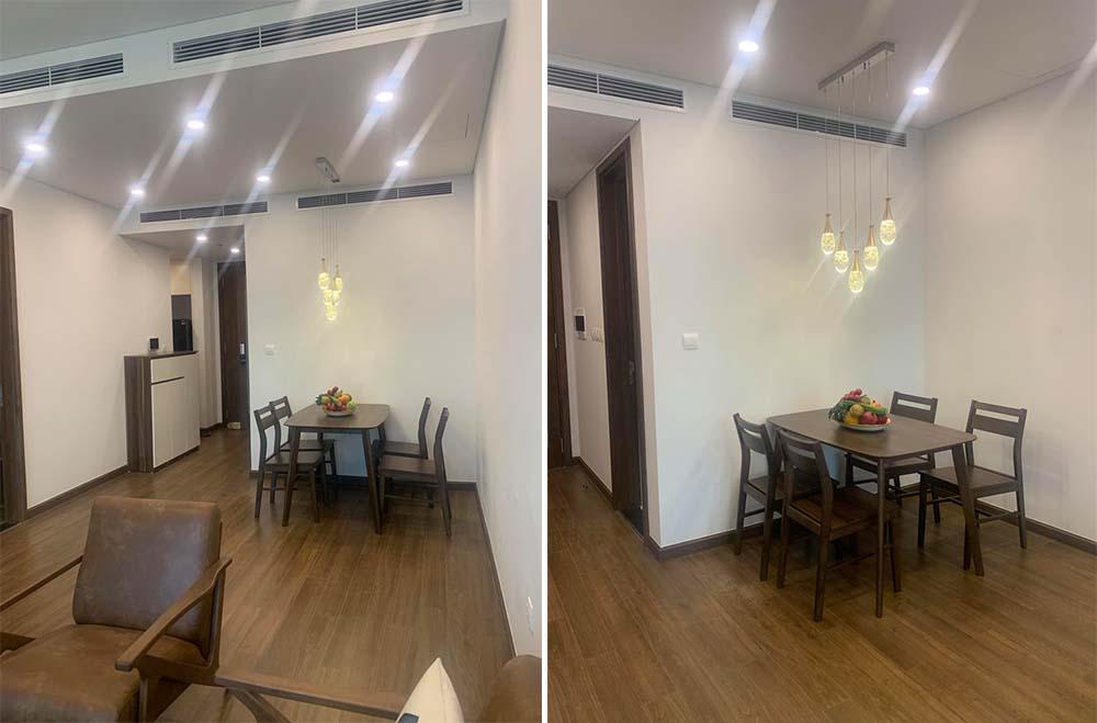 Cho thuê căn hộ 2 phòng ngủ 77m2 Sun Gand City Ancora