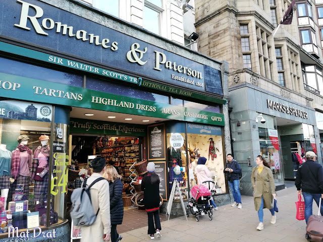 Souveniour Edinburgh Romanes & Peterson