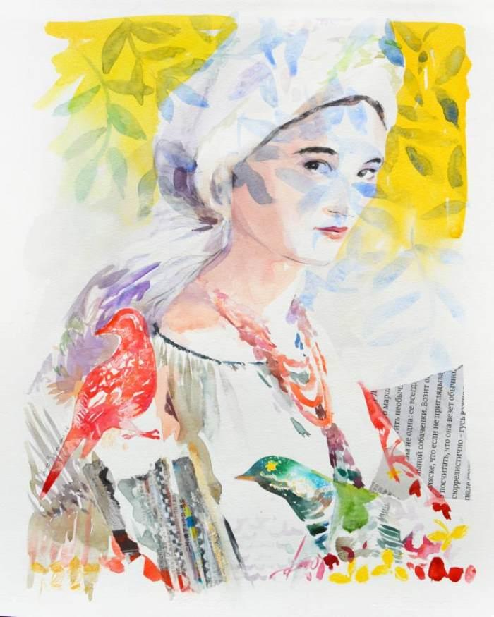 Итальянский художник. Maria Bejarano