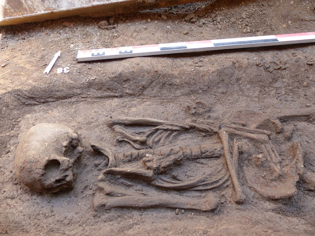 Gallo-Roman necropolis discovered in French city of Mâcon