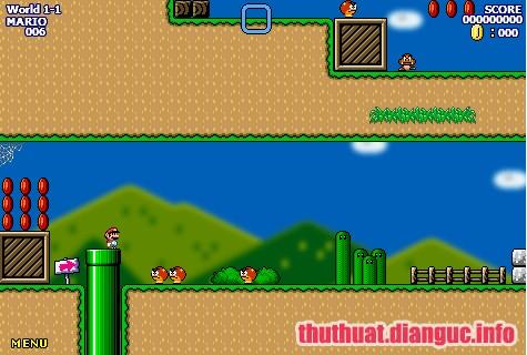 Download Game Super Mario World Flash