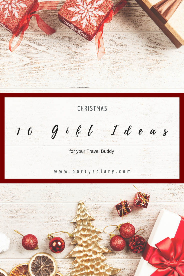 10 Christmas Gift Ideas for your travel buddy. Travel Planners, Gadgets, Books, and many more