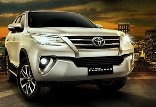 mobil Toyota All New Fortuner 2016 di jakarta