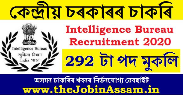 Intelligence Bureau Recruitment 2020