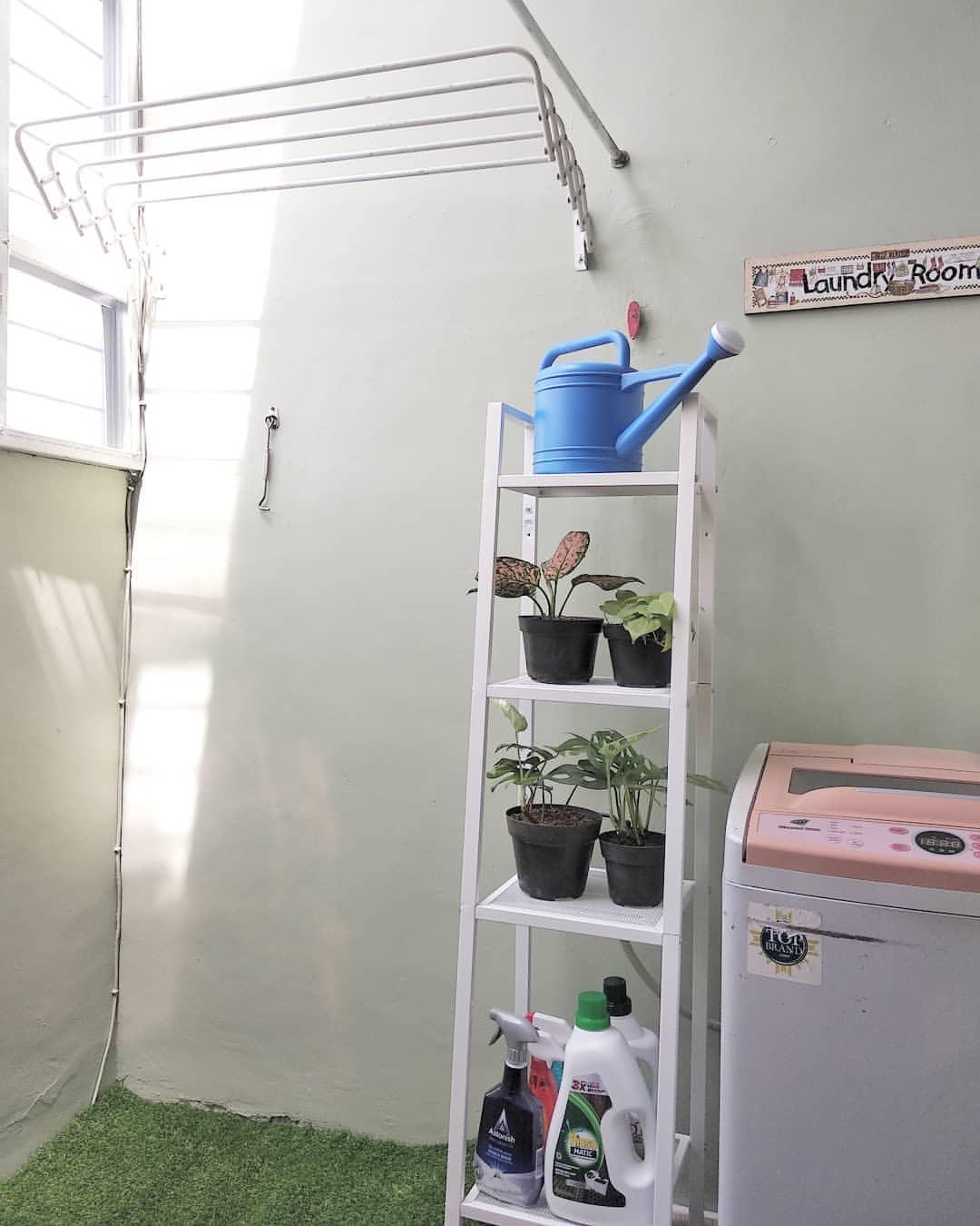 Ide Ruang Cuci di Lahan Sempit