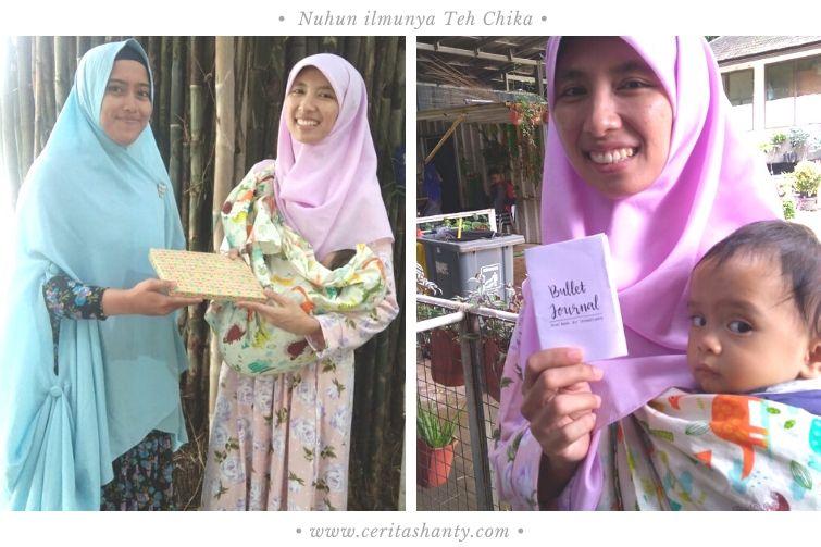 Chika Dzika I Ulya berbagi bujo di kelas BunCek Bandung