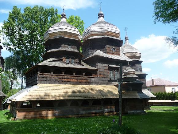 Дрогобич. Церква святого Юра. Світова спадщина ЮНЕСКО