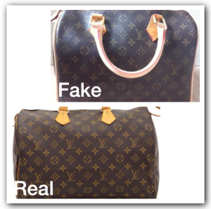 647c59703d ... left and right side of the zipper should also have a symmetrical (!)  mirror image. This is the easiest way to spot a fake Louis Vuitton Monogram  bag.